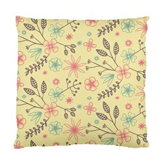 Seamless Spring Flowers Patterns Standard Cushion Case (Two Sides)