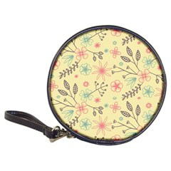 Seamless Spring Flowers Patterns Classic 20-CD Wallets