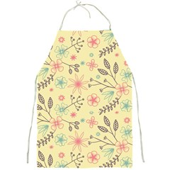 Seamless Spring Flowers Patterns Full Print Aprons