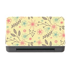Seamless Spring Flowers Patterns Memory Card Reader with CF