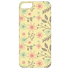 Seamless Spring Flowers Patterns Apple iPhone 5 Classic Hardshell Case