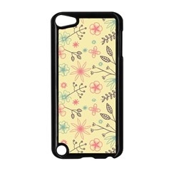Seamless Spring Flowers Patterns Apple iPod Touch 5 Case (Black)