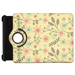 Seamless Spring Flowers Patterns Kindle Fire HD 7