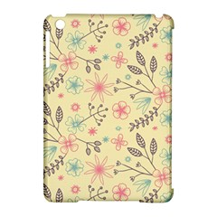 Seamless Spring Flowers Patterns Apple iPad Mini Hardshell Case (Compatible with Smart Cover)