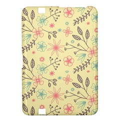 Seamless Spring Flowers Patterns Kindle Fire HD 8.9