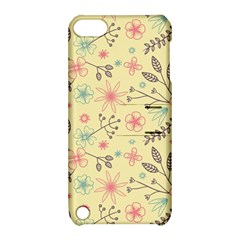 Seamless Spring Flowers Patterns Apple iPod Touch 5 Hardshell Case with Stand
