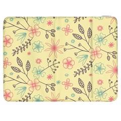 Seamless Spring Flowers Patterns Samsung Galaxy Tab 7  P1000 Flip Case
