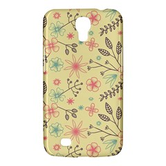 Seamless Spring Flowers Patterns Samsung Galaxy Mega 6.3  I9200 Hardshell Case