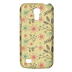 Seamless Spring Flowers Patterns Galaxy S4 Mini