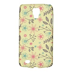 Seamless Spring Flowers Patterns Galaxy S4 Active
