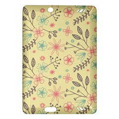 Seamless Spring Flowers Patterns Amazon Kindle Fire HD (2013) Hardshell Case
