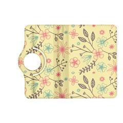 Seamless Spring Flowers Patterns Kindle Fire HD (2013) Flip 360 Case