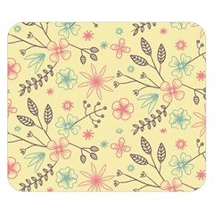 Seamless Spring Flowers Patterns Double Sided Flano Blanket (Small)