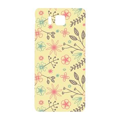 Seamless Spring Flowers Patterns Samsung Galaxy Alpha Hardshell Back Case