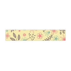 Seamless Spring Flowers Patterns Flano Scarf (Mini)