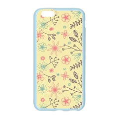 Seamless Spring Flowers Patterns Apple Seamless iPhone 6/6S Case (Color)