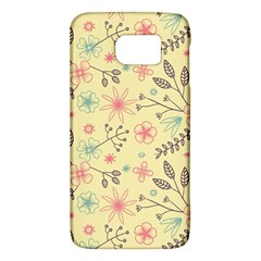 Seamless Spring Flowers Patterns Galaxy S6