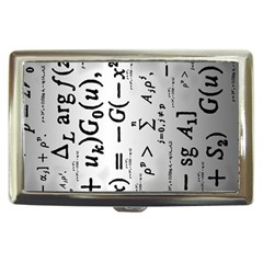 Science Formulas Cigarette Money Cases