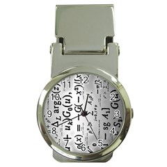 Science Formulas Money Clip Watches