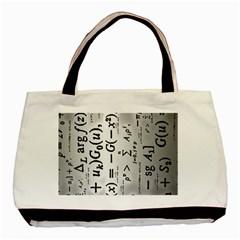 Science Formulas Basic Tote Bag