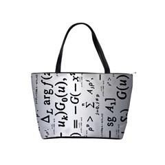 Science Formulas Shoulder Handbags