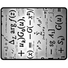 Science Formulas Fleece Blanket (Medium)