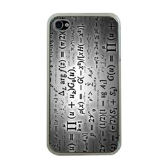 Science Formulas Apple iPhone 4 Case (Clear)