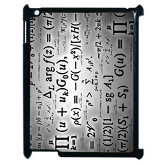 Science Formulas Apple Ipad 2 Case (black)