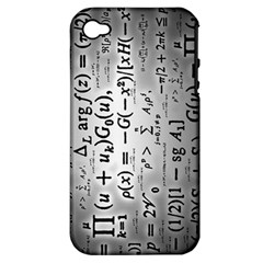 Science Formulas Apple iPhone 4/4S Hardshell Case (PC+Silicone)