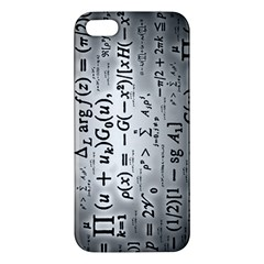 Science Formulas Apple Iphone 5 Premium Hardshell Case