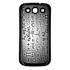 Science Formulas Samsung Galaxy S3 Back Case (Black)