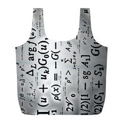 Science Formulas Full Print Recycle Bags (L)
