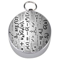 Science Formulas Silver Compasses