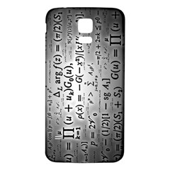 Science Formulas Samsung Galaxy S5 Back Case (White)