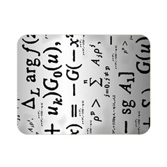 Science Formulas Double Sided Flano Blanket (mini)