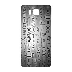 Science Formulas Samsung Galaxy Alpha Hardshell Back Case