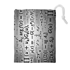 Science Formulas Drawstring Pouches (Extra Large)