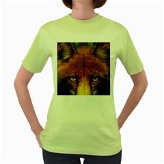 Fox Women s Green T Shirt