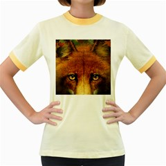 Fox Women s Fitted Ringer T-Shirts