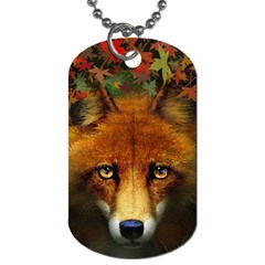 Fox Dog Tag (One Side)
