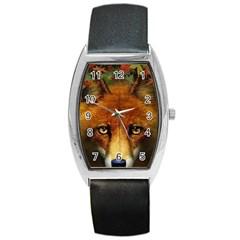 Fox Barrel Style Metal Watch