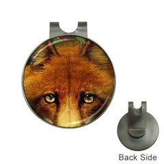 Fox Hat Clips with Golf Markers