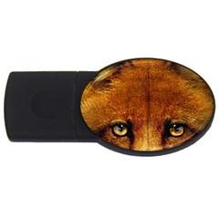 Fox Usb Flash Drive Oval (4 Gb)