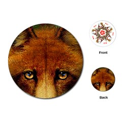 Fox Playing Cards (round)
