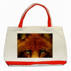 Fox Classic Tote Bag (Red)