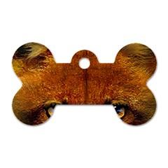 Fox Dog Tag Bone (one Side)