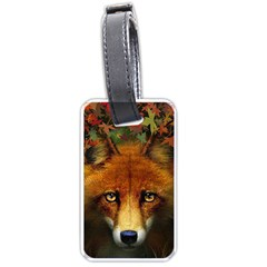 Fox Luggage Tags (two Sides)