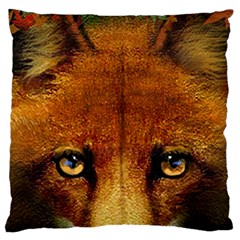 Fox Large Cushion Case (Two Sides)