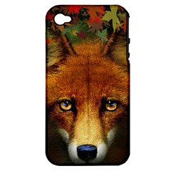 Fox Apple iPhone 4/4S Hardshell Case (PC+Silicone)