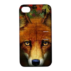 Fox Apple iPhone 4/4S Hardshell Case with Stand
